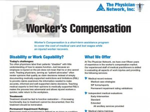 TPN Literature: Workers Comp